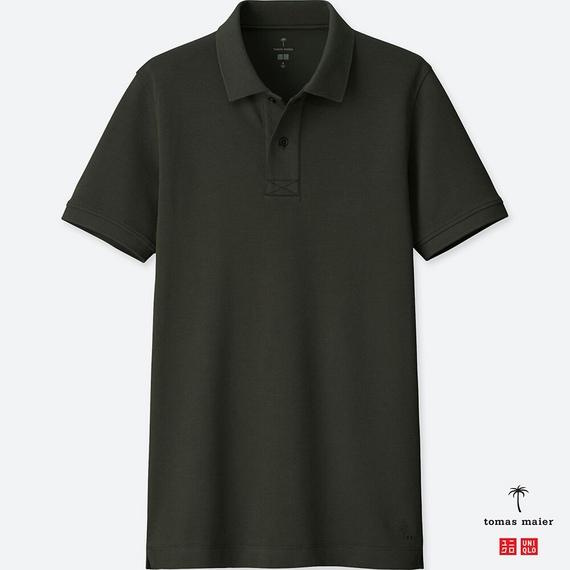 UNIQLO エアリズムポロシャツ(半袖) tomas maier メンズ