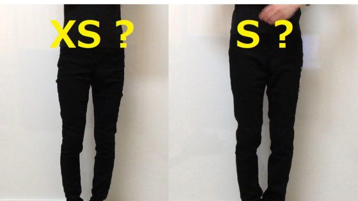 ユニクロ EZYジーンズ XSかSどっちを選ぶべきか‼ 着比べしました![レディース]着用感 サイズ感 着心地は?【イージージーンズ着用レポ】