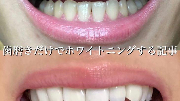 効果は?歯が白くなる歯磨き粉【コルゲート オプティックホワイト リニューアル ハイインパクトホワイト】で簡単にホワイトニング!